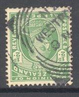 NEW Zealand, Squared Circle Postmark WESTPORT On Edward VII Stamp - Used Stamps