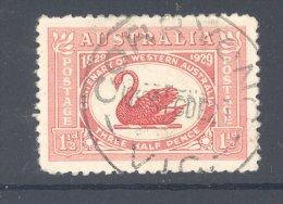 VICTORIA, Postmark ´CORRYONG´ On George V Stamp - Gebraucht