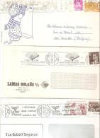 3 Cartas Con Matasellos Diferentes.8 - 1931-Hoy: 2ª República - ... Juan Carlos I
