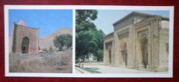 The Domed Mausoleum Of Manas In The Talas Valley - Mausoleum In Uzgen - 1984 - Kyrgystan USSR - Unused - Kirgisistan