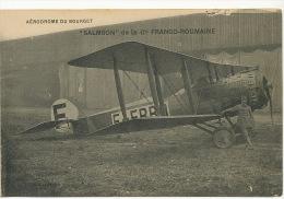 """Aeroport Le Bourget 93 France """" Salmson """" De La Cie Franco Roumaine  Edit Le Deley - Roumanie"""