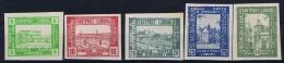 Poland: 1918 Lumboml Fi 1-5 B MH/*,