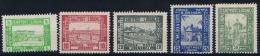 Poland: 1918 Lumboml Fi 1-5 A MH/*, - ....-1919 Provisional Government