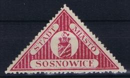 Poland: Sosnowiec / Sosnowice, 1916 Fi 5 , MH/*