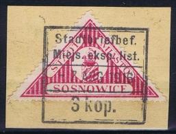 Poland: Sosnowiec / Sosnowice, 1916 Fi 5 , Used