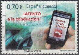Espagne 2012 GSM Au Volant O - 1931-Aujourd'hui: II. République - ....Juan Carlos I