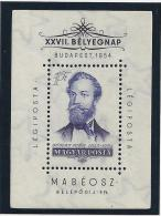 HUNGRIA 1954 - Yvert #H30S - MNH ** - Hojas Bloque
