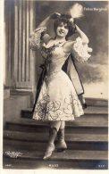 Carte Fantaisie Reutlinger Folies Bergeres Musz - Illustrateurs & Photographes
