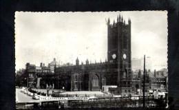 F704 Machester, The Cathedral - Used 1968 - Bel Testo Sul Retro - Ed. Bamforth - Manchester