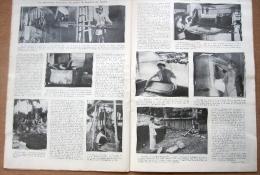 """Magazine Avec Article """"La Pittoresque Fabrication Du Papier De Bambou Au Tonkin"""" 1933 - Documentos Antiguos"""