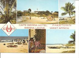 SIERRA LEONE -CAPE SIERRA HOTEL -multivues - Sierra Leone