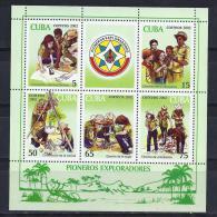 CUBA 2002 - SCOUTS - Yvert #H170 - MNH ** - Movimiento Scout