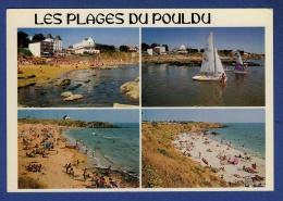 29 LE POULDU Plages Des Grands Sables De Kerrou Et De Bellangenet ; Voiliers, Planches à Voile - Animée - Le Pouldu