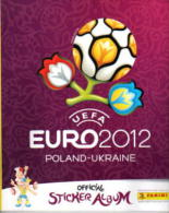 "Album Chromos Panini "" EURO 2012-  POLAND-UKRAINE"" Vide - Albums & Catalogues"