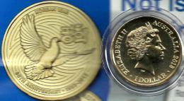 AUSTRALIA $1 60 YEARS OF END OF KOREA WAR BIRD 2013 ONE YEAR TYPE UNC NOT RELEASED READ DESCRIPTION CAREFULLY !!! - Sin Clasificación