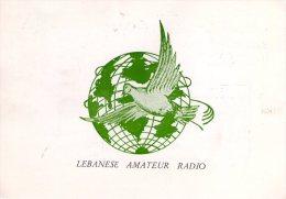TRIPOLI , Libano ,  QSL  , Radioamatori - Libano
