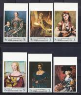 PINTURA - KINGDOM OF YEMEN 1968 - Michel #485/90B - MNH ** - Madonnas