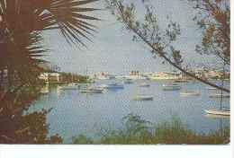 VIEW RED HOLE PAGET ACROSS HAMILTON HARBOUR  TBE   OHL - Bermuda