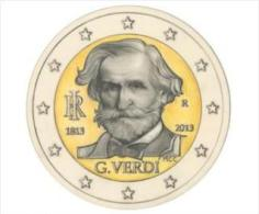"""Italië 2 Euromunt UNC CC 2013  """" Verdi """" - Italien"""