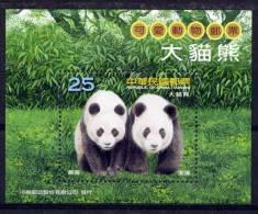 TAIWAN 2009 - Faune, Pandas - BF Neuf // Mnh - 1945-... République De Chine