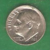 One Dime  ETATS-UNIS  1985 P (PRIX FIXE)  (BE23) - 1946-...: Roosevelt