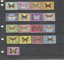 Norfolk Island-1976-77 Butterflies Set MNH - Norfolk Island