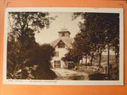 V09-39-jura-morez -la Maison Lamartine--beau Timbre 1944 - Morez