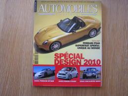 AUTOMOBILES CLASSIQUES Revue N° 192 Ferrari P540 Porsche Aston Martin Rolls Royce Spécial Design 2010 - Auto/Moto