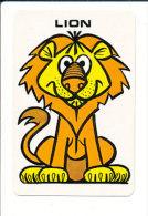Lion Et  Hibou / Oiseau Chouette Humour / Humor Owl Bird  // IM 124/5 - Sin Clasificación