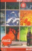 China Jitong Prepaid Cards: Coca Cola (1pcs) - Cina