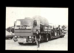 17 - LA ROCHELLE - Camion SCANIA - Entreprise Bezombes - Tracteur - 1984 - Carte Signée Par L'llustrateur - La Rochelle