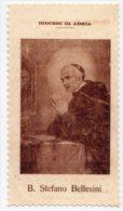 Adria - Santino Nuovo Fustellato B. STEFANO BELLESINI - Ristampa Tipografica Da Santino Antico - PERFETTO F43 - Religione & Esoterismo