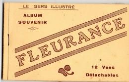 Fleurance : Carnet De 12 Cartes - Fleurance
