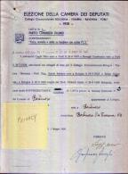 PARTITO COMUNISTA ITALIANO - Anno 1958 - Alte Papiere