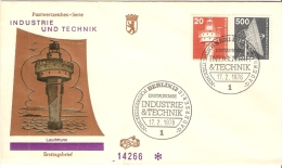 Germany (Berlin) 1976  Industrie Und Technik  FDC  Mi.496,507 - FDC: Briefe