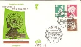 Germany (Berlin) 1975  Industrie Und Technik  FDC  Mi.498,499,502 - FDC: Briefe