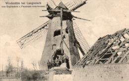 1914-1918 - LANGEMARK - Windmühle Bei Langemark (MOLEN !!!) - War 1914-18