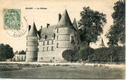 CPA 03 JALIGNY  LE CHÂTEAU 1907 - France