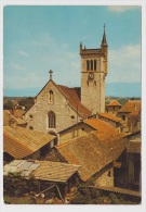 MORESTEL - VUE SUR L' EGLISE - Ed. CELLARD - Morestel