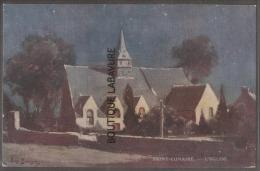 SAINT LUNAIRE---L'Eglise---Illustrateur Eugene BOURGEOIS - Bourgeois