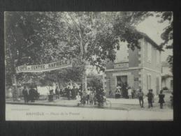RAPHELE  Place De La Presse  Depositaire Journaux NEBLE Café Du Centre - France