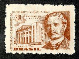 3448x)  Brazil 1960 - Sc# 904 ~ M*  (scv $.50 Retail) - Unused Stamps