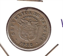 PANAMA 5 CENTESIMOS 1932 - Panama