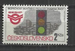CZECHOSLOVAKIA 1992 - TRAFFIC SAFETY  - MNH MINT NEUF NUEVO - Czechoslovakia