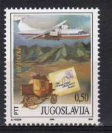 Yugoslavia,Stamp Day 1994.,MNH - 1992-2003 Federal Republic Of Yugoslavia