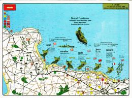 Plan D´attaque Du DEBARQUEMENT EN NORMANDIE - 1944 - Basse-Normandie