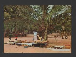 Postcard 1960years AFRICA ANGOLA LUANDA QUITANDO NO MUSSULO AFRIKA AFRIQUE - Angola