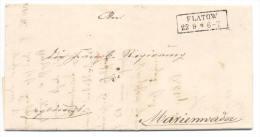 Flatow  1863 Nach Marienwerder - Brief Mit Inhalt - Preussen