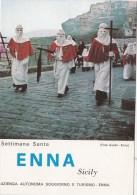 B74484 Settimana Santa Enna Sicily     2 Scans - Enna