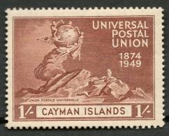 CAYMAN ISLANDS 1949 1s MNH(**) SG 134 -CAG - Grande-Bretagne (ex-colonies & Protectorats)